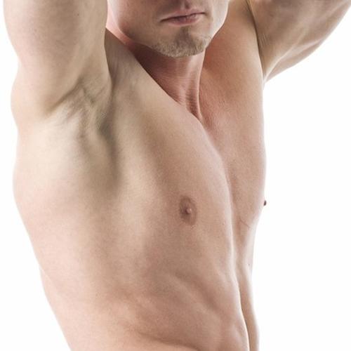 depilazione maschile ascelle